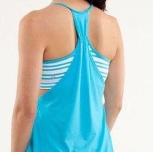 Lululemon  No Limits Tank in Spry Blue